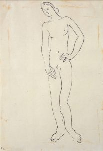 (Standing Female Nude)