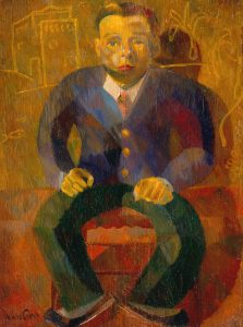 (Portrait of a Seated Man)