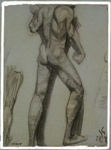 (Male Nude)