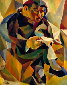 Untitled (Seated Man Reading)